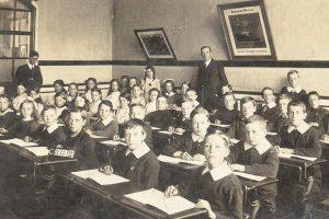 1921 School Classroom
