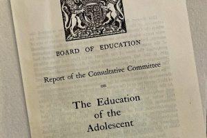 1926 Hadow Report Education